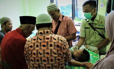 Sambut HUT ke 42, PDAM Tirta Pakuan Kota Bogor Selenggarakan Sunatan Massal