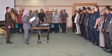 Ade Yasin Melantik 168 Pejabat Esselon III dan IV Lingkup Pemkab Bogor