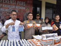 Polres Bogor Ungkap Kasus Penimbunan Masker dan Hand Sanitizer