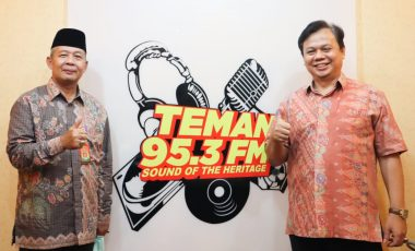 Dialog di Radio Teman 95,3 FM, Sekdakab Bogor Sampaikan Perkembangan Pembentukan CDPOB Bogor Timur dan Barat