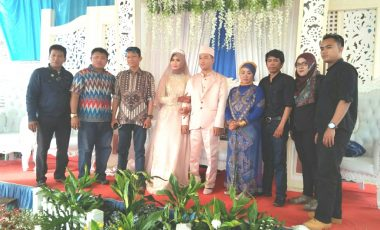 Jajaran IWO Bogor Raya Hadiri Resepsi Pernikahan Putri Ketua IWO Provinsi Jawa Barat