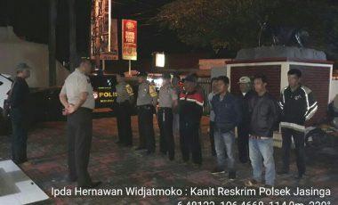 Kapolsek Jasinga Pimpin Langsung Patroli Malam Skala Besar