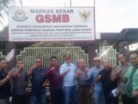 Rombongan Ketua LSM GSMB Resort 17 Kabupaten Indramayu Berkunjung Ke Markas LSM GSMB DPD Jabar