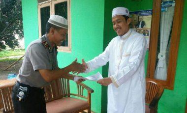 Kapolsek Babakan Madang Gencar Sosialisasikan Rilis Pedoman Khutbah Jum'at Bagi Para Khotib