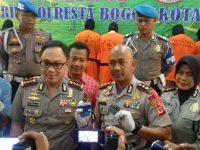 Sat Reskrim Polresta Bogor Kota Berhasil Ungkap Kasus Curanmor