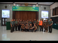Keluarga Besar Korem 061/Sk Sosialisasikan Netralitas TNI Jelang Pilkada serentak 2018