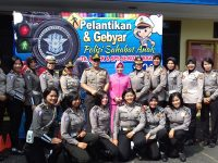 Kemeriahan Pelantikan dan Gebyar Polisi Sahabat Anak di Polresta Bogor Kota