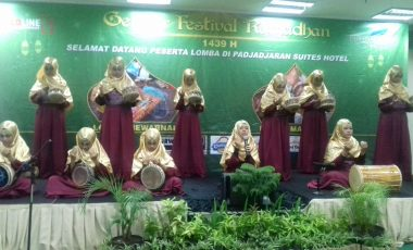 Kemeriahan Gebyar Festival Ramadhan 1439 H, Lomba Marawis di Padjadjaran Suites Hotel