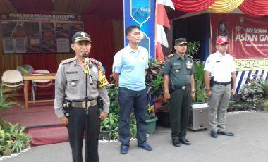 Polsek Babakan Madang Kerahkan 150 Personil Gabungan Untuk Pengamanan Malam Takbir