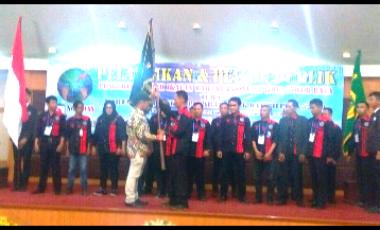 Jhodi Yudono Lantik Pengurus Daerah IWO Bogor Raya di Gedung Serbaguna I Pemkab Bogor