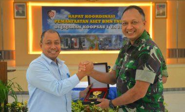 Koopsau I Gelar Rakor Pemanfaatan Aset Barang Milik Negara di Lingkungan TNI AU