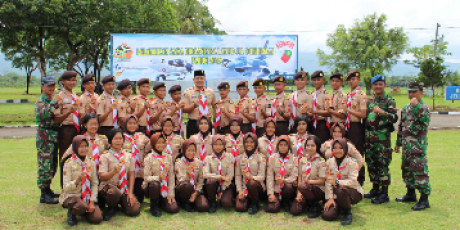 Saka Dirgantara Angkatan I Tahun 2018 Lanud Jenderal Besar Soedirman Resmi Dikukuhkan