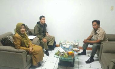 Tingkatkan Sinergitas, Ketua DPC PWRI Kabupaten Bogor Melakukan Kunjungan ke Dinas DKP