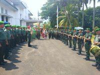 Danrem 061/Suryakancana Pimpin Acara Tradisi Satuan Pelepasan Kolonel Inf Mohammad Hasan