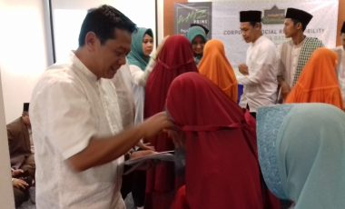 Berkah Ramadhan Whiz Prime Hotel Pajajaran Bogor Gelar Bukber dan Santunan Anak Yatim