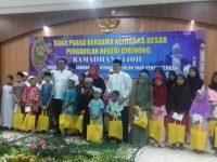 Pererat Tali Silaturahmi Keluarga Besar PN Kelas IA Cibinong Gelar Bukber dan Santuni Anak Yatim