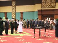 Burhanudin Resmi Dilantik Bupati Bogor Jadi Pejabat Sekda Periode 2019 – 2023