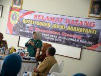 Bupati Bogor Fokuskan Peningkatan Infrastruktur Di Kecamatan Ciseeng