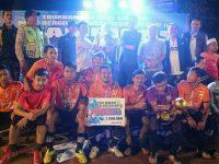 ZEFET FC Sabet Gelar Juara di Ajang Mini Soccer Piala Kades Susukan Cup III Tahun 2018