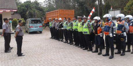 Satlantas Polres Bogor Gelar Operasi Gabungan Tindak Pelanggaran di Kecamatan Rumpin