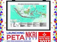 Launching Peta NKRI 2017 dan Pencanangan Gerakan Menebar Sejuta Peta untuk Negeri