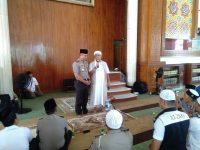 Kapolda Jawa Barat Sholat Dzuhur Berjamaah di Masjid Az Zikra Babakan Madang Bogor