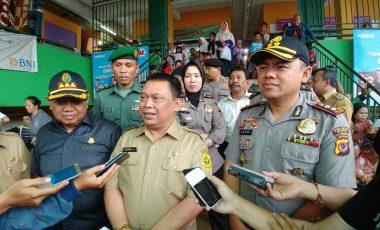 Kapolres Bogor Sidak Pasar Jelang Natal dan Tahun Baru 2018