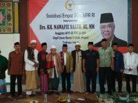 KH Nawafie Saleh SE MM Anggota MPR RI Sosialiasikan 4 Pilar di Gunung Sodong