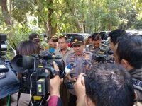 Pasca Musibah Jembatan Gantung Polres Bogor dan Dandim Kunjungi TKP