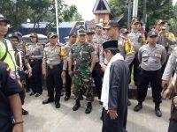 Kodim 0621 Kerahkan 100 Personil Untuk Pengamanan Pendaftaran Paslon Bupati dan Wakil Bupati Kabupaten Bogor