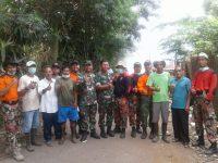 Wadanramil 2106 Cileungsi Kabupaten Bogor Pimpin Operasi Pembersihan Sampah