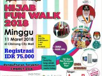 KPU Bogor Akan Sosialisasi di Event Hazna Hijab Fun Walk 2018
