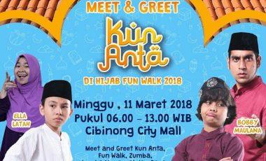 Door Prize Puluhan Jutaan Rupiah Menanti di Acara Hazna Fun Walk 2018
