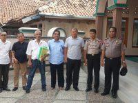 Kapolres Bogor Deklarasikan Anti Hoax Usai Sholat Ashar Berjamaah di Masjid At Taqwa Jasinga