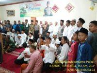 Polisi Leuwiliang Sholat Subuh Bersama Unsur Muspika dan Jamaah Masjid Al Istiqomah