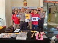 Sat Reskrim Polres Bogor Tangkap Dua Supir Taxi Online Pelaku Pembunuhan