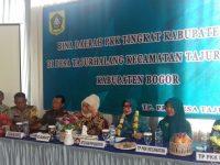 Bina Wilayah Tim Penggerak PKK Kabupaten Bogor di Desa Tajurhalang