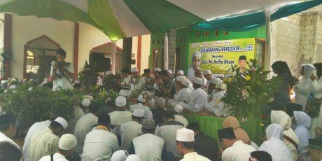 Polres Bogor Gandeng KH. M. Arifin Ilham di Acara Tabligh Akbar dan Dzikir Berjamaah