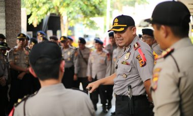 Kapolres Bogor Pimpin Langsung Pengamanan Jelang Debat Pasangan Calon Bupati dan Wakil Bupati Bogor