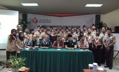 Focus Group Discussion Panwaslu Dalam Rangka Pembentukan Saka Adhyatsa Pilkada Bogor 2018