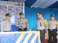 Kapolda Jabar Cek Kesiapan Pos PAM Operasi Ketupat Lodaya 2018 di Bogor