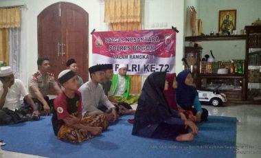 Perkuat Silaturahmi, Kapolsek Sukamakmur Gelar Aksi Nobar Piala Dunia 2018 Bersama Warga