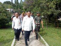 Danrem 061/Sk Dampingi Menkopolhukam Pantau Pilkada 2018 di Bogor
