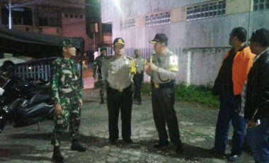 Sinergitas TNI-Polri Kota Sukabumi Terjalin Erat Dalam Pengamanan Pilkada Serentak 2018