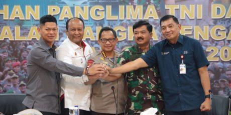 Pengarahan Kapolri dan Panglima TNI Dalam Rangka Pengamanan Asian Games 2018