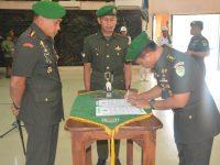 Danrem 061/Sk Pimpin Sertijab Dandim 0621/Kabupaten Bogor