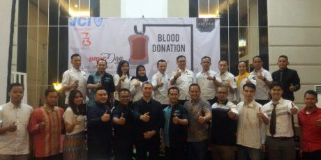 Sambut HUT Ke 73 RI, Grand Savero Bogor Gelar Donor Darah Bekerjasama Dengan JCI Bogor City
