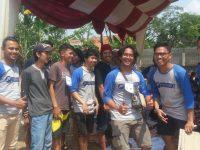 Potong 4 Sapi dan 4 Kambing, Kumpulan Pemuda Kaum Leuwiliang Motori Pemotongan Hewan Qurban
