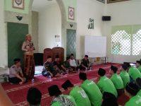 Kapolres Bogor Berikan Wasbang Dihadapan Ratusan Anggota GP Ansor dan Banser