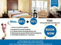 Nikmati Weekend Anda di Padjadjaran Suites Hotel dan Dapatkan Combo Discount